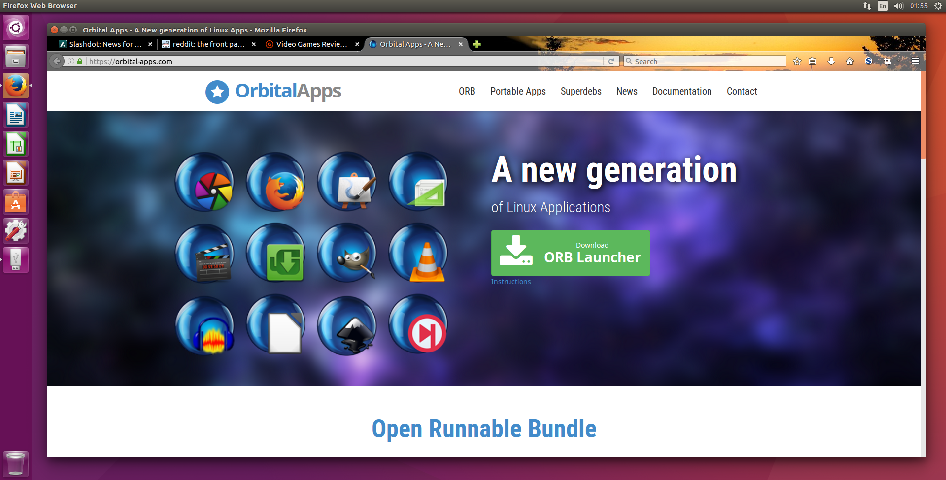 Portable Apps For Ubuntu 16 04 Now Available Orbital Apps Com